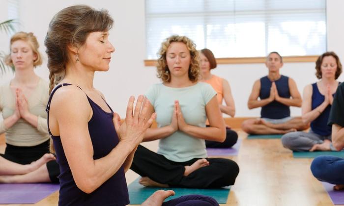 Apex Climbing Gym - Metcalf View: 10 Yoga Classes at Apex climbing gym (67% Off)