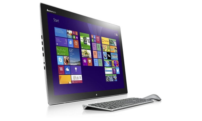 "Lenovo IdeaCentre Horizon 2 Touchscreen 27"" Tabletop Computer: Lenovo IdeaCentre Horizon 2 Touchscreen 27"" Tabletop Computer with Intel Core i5-4210U Processor and 8GB RAM"