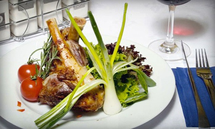 Vernisage - Pikesville: Four-Course Meal with Wine Tasting for Two or Four, or $25 for $50 Worth of Russian Cuisine at Vernisage