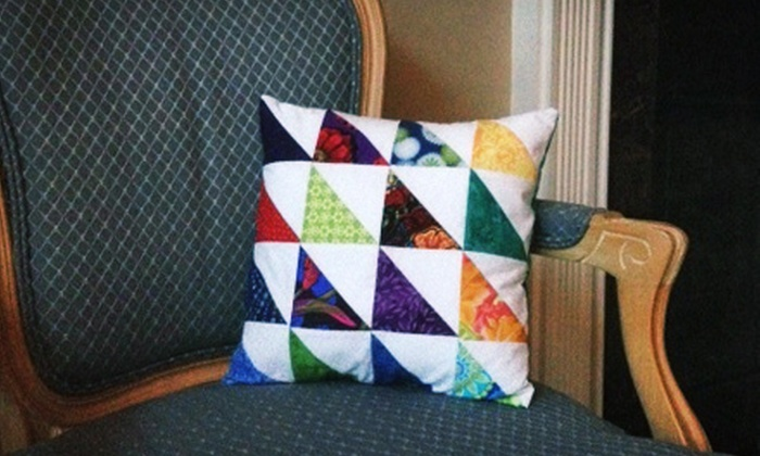 Among Friends Quilt Shop - Louisville: Three-Hour Intro to Sewing Class for One or Two at Among Friends Quilt Shop (Up to 66% Off)