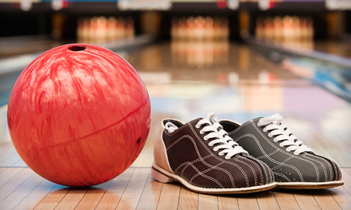Port Jeff Bowl - Port Jefferson Station: Two Games of Bowling for Two, Four, or Six with Shoe Rental at Port Jeff Bowl (Up to 60% Off)
