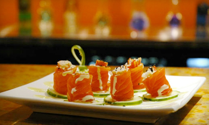 Fuji 1546 Restaurant & Bar - Quincy Center: Sushi Meal for Two or Four or $12 for $25 Worth of Sushi and Japanese Food at Fuji 1546 Restaurant & Bar
