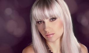 Picture Nails & Hairdress: Haarschnitt mit Strähnchen oder Ansatzfarbe inkl. Intensivpflege bei Picture Nails & Hairdress (53% sparen*)