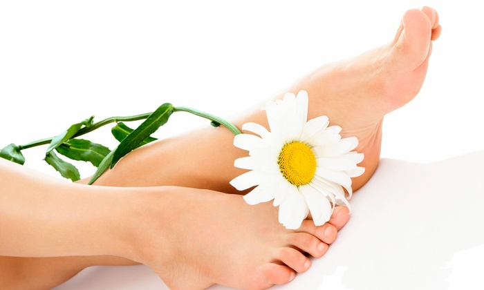 Ynv Spa and Tanning - Killarney: One or Three Gel Spa Pedicures at Ynv Spa and Tanning (Up to 56% Off)