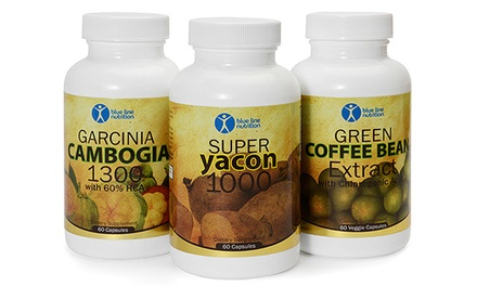 groupon daily deal - Weight-Loss Supplements from Blue Line Nutrition (Up to 71% Off). Four Options Available.