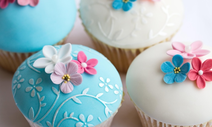 Cakes and Desserts by Diva's Delites - Conyers: Two Two Cupcakes with Purchase of Two Cupcakes at Cakes and Desserts Cafe
