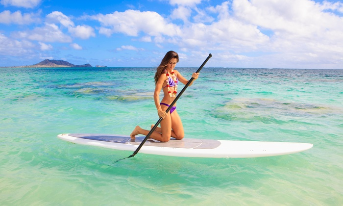 Endless Adventures Hawaii - Multiple Locations: Kayak Tour for Two or Four or Paddle Board Lesson for One or Two at Endless Adventures Hawaii (Up to 65% Off)