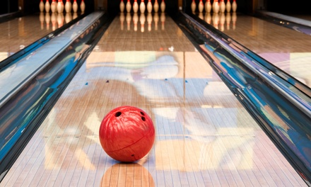 $25 for Two Hours of Bowling for Five with Shoes, Pizza, and Pitcher of Soda at Oasis Lanes ($90 Value)