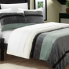 Abigail Microsuede and Sherpa Comforter Set (3pc.)