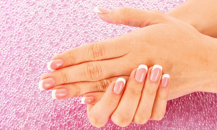 Dezines Hair Artistry - Ocala: Manicure and Spa Pedicure, French Wrap and Manicure, or Set of Acrylic Nails at Dezines Hair Artistry (Up to 53% Off)