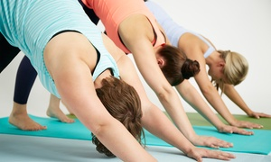 Anuttara Yoga: 5 Traditional Yoga or Barre Classes at Anuttara Yoga (Up to 65% Off)