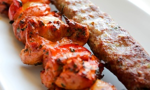 Kabab Bites: $25 Worth of Indian Food for Dine-In or $30 Worth of Indian Food for Pick-Up at Kabab Bites (Up to 40% Off)
