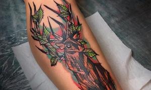 Studio Tatuażu RAZORtattoo: Tatuaż 5x5 cm od 99,99 zł i więcej opcji w Studiu Tatuażu RAZORtattoo (do -58%)