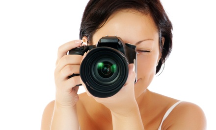 Three-Hour On-Location Photography Workshop with Optional DSLR Class (Up to 56% Off)