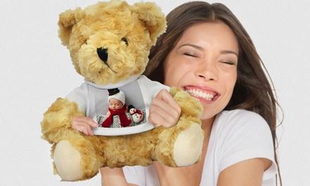 Gepersonaliseerde teddybeer van Printerpix