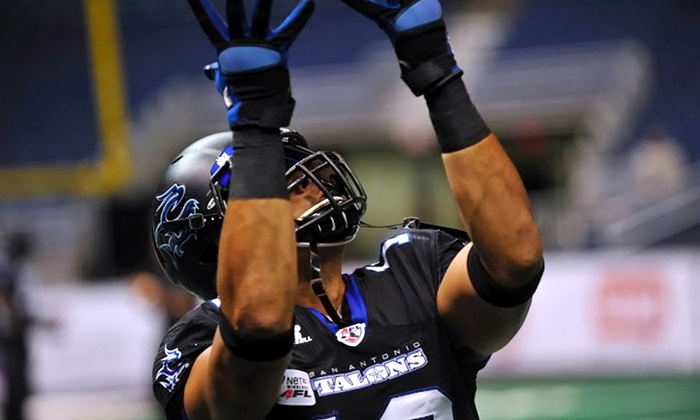 San Antonio Talons - Downtown: San Antonio Talons Arena Football Game at the Alamodome on Saturday, July 12, at 7 p.m. (Up to 58% Off)