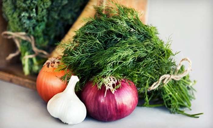 The Market - Maryville: $20 for $40 Worth of Locally Sourced and Imported Gourmet Groceries at The Market