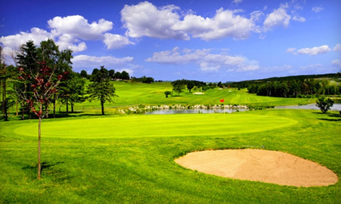 Bally Haly Golf - East End: 18-Hole Weekend Round of Golf for Two or Two Hours of Curling at Bally Haly Golf (Up to 53% Off)
