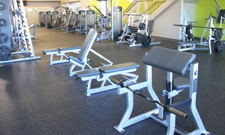 One- or Three-Month Membership to the Legacy Fitness Zone at Chase Near Eastside Legacy Center (Up to 52% Off)