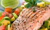 Social 242 Lounge and Grill - Central City: Dinner for Two or Four with Appetizers and Entrees at Social 242 Lounge and Grill (Up to 46% Off)
