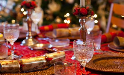 image for Winter Wonderland Night with a Two-Course Meal for Two or Four, 2 December 2017, The Hilton Northampton Hotel (53% Off)