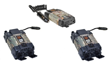 Realtree Power Inverters; 120W to 750W Models from $21.99–$54.99