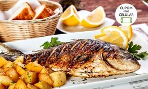 Restaurante Sereia do Mar: Restaurante Sereia do Mar - S. B. do Campo: entrada + Abadejo Alvarenga + sobremesa para 2 ou 4 pessoas