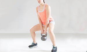 Warrior Room: 4, 8, or 12 Kettlebell Fitness Classes at Warrior Room (Up to 52% Off)