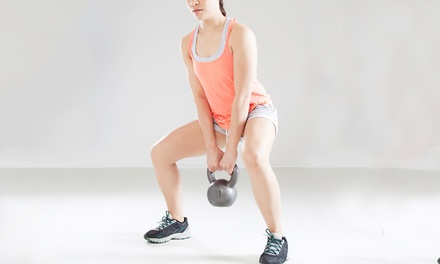 4, 8, or 12 Kettlebell Fitness Classes at Warrior Room (Up to 55% Off)