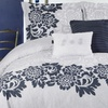 Embroidered and Pleated 5-Piece Comforter Set