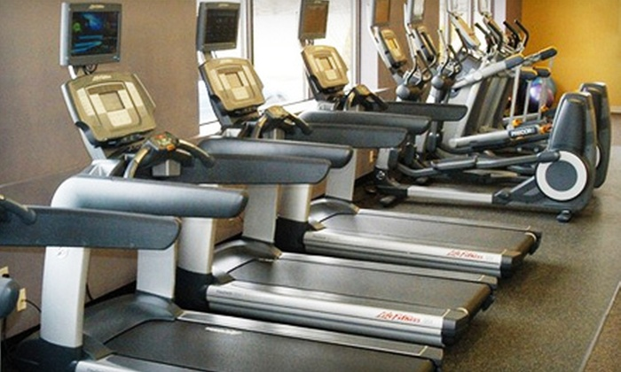 Anytime Fitness Columbus - Olentangy: Two-Month Membership with Unlimited Tanning and One Personal Training and Optional Massage at Anytime Fitness in Delaware (Up to 82% Off)