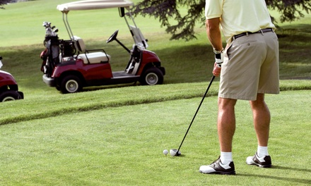 Round of Golf with Cart Rental and Range Balls During the Weekend or Weekday (Up to 51% Off)