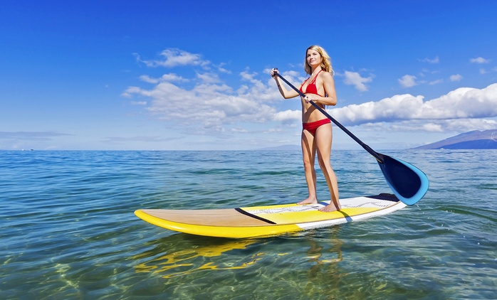 One-Hour Rental of One ($15) or Two Stand-Up Paddle Boards ($29) at BalmoralWater Sports Center (Up to $60 Value)