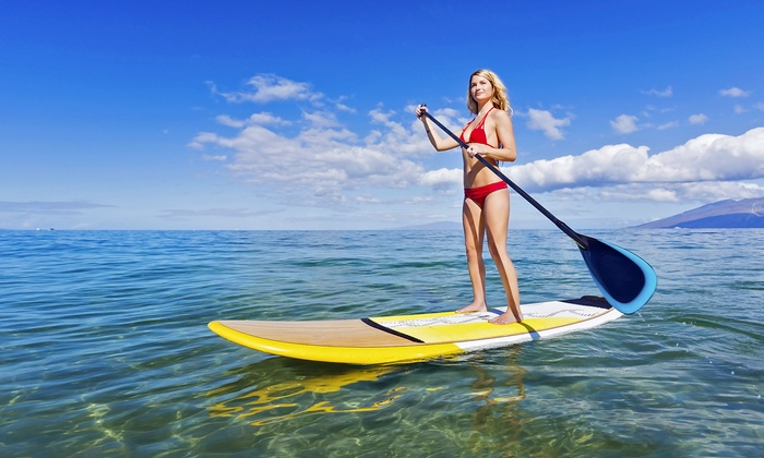 SUP with Wade - SUP with Wade: $39 for a Two-Hour Stand-Up Paddleboard Lesson for One at SUP with Wade ($80 Value)