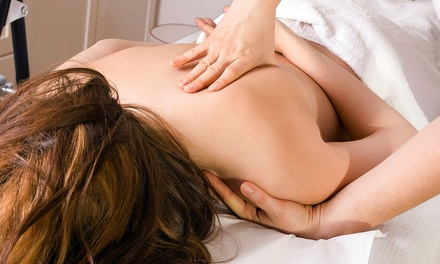 Exam with X-rays and Adjustment, a 60-Minute Deep-Tissue Massage, or Both at Nardone Chiropractic Center (Up to 74% Off)