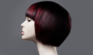 ABQ Hair Studio Aveda: Haircut with Optional Botanical Therapy Treatment and Express Facial at ABQ Hair Studio Aveda (Up to 46% Off)