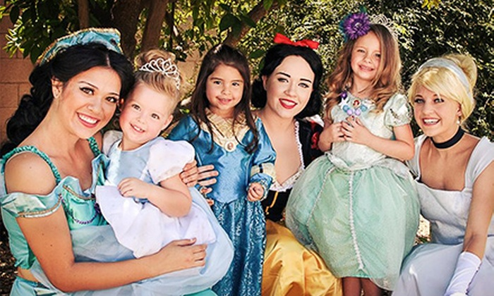 Pink Glitter Events - Phoenix: One-Hour Princess-Only or Two-Hour Princess-Party Package from Pink Glitter Events (Up to 60% Off)