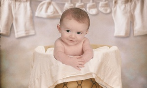 Studio Kids: $39 for a Baby-Portrait Package with Four Photo Sessions at Studio Kids ($79 Value)