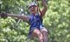 Up to 60% Off Zipline Adventure