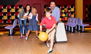 AMF Bowling Co.: Bowling and Shoe Rental for Two, Four, or Six at AMF Bowling Co. (Up to 54% Off)