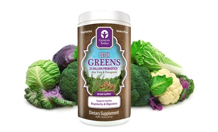 Detox Greens Genesis Today Dietary Supplement (30 Servings)