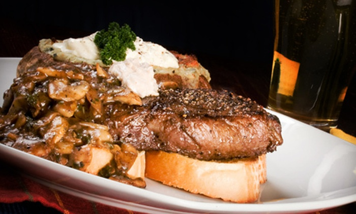 Park Tavern - St. Louis Park: $25 for $50 Worth of Steaks, Burgers, Pizza, Sandwiches, and Drinks at Park Tavern