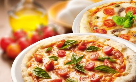 Menú para 2 o 4 con entrante, pizza, pasta o lomo, postre o café y bebida o botella de vino desde 19,95 € en Flash