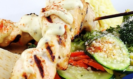 $13 for $20 Worth of Greek Food at OPA Life Greek Café