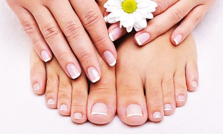 Regular or Gel Mani and Regular Pedi or 2 Gel Manis and Regular Pedis at Lisa Nails & Spa (Up to 63% Off)
