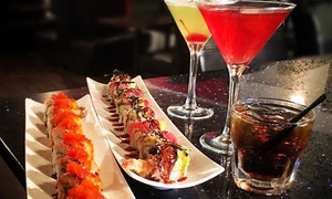 Sushi Spott: Japanese Food and Sushi at Sushi Spott with Lounge (Up to 40% Off). Two Options Available.