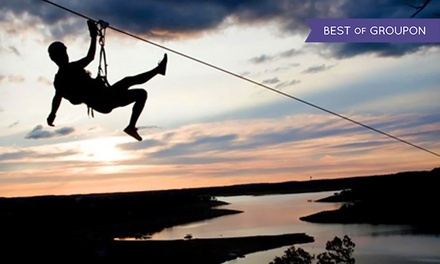 Zipline Tour for One or Two at Lake Travis Zipline Adventures (Up to 25% Off)