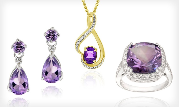 Amethyst Jewelry: Amethyst Jewelry (Up to 88% Off). Seventeen Options Available. Free Shipping on Purchases of $15 or More. Free Returns.