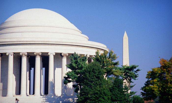 iGuide Tours - Northwest Washington: Three-Hour Bus Tour of Washington DC for One or Two or Tour Combo from iGuide Tours (51% Off)