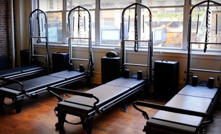 3 Small-Group Beginner or Intermediate Reformer & Tower Classes, and 1 Pilates Boot-Camp Class (a $140 value) - Gramercy Pilates Fitness in Manhattan